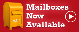 mailbox banner | storage units